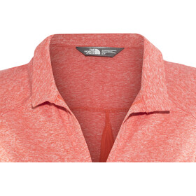 The North Face Inlux S/L Top Women Fire Brick Red Heather
